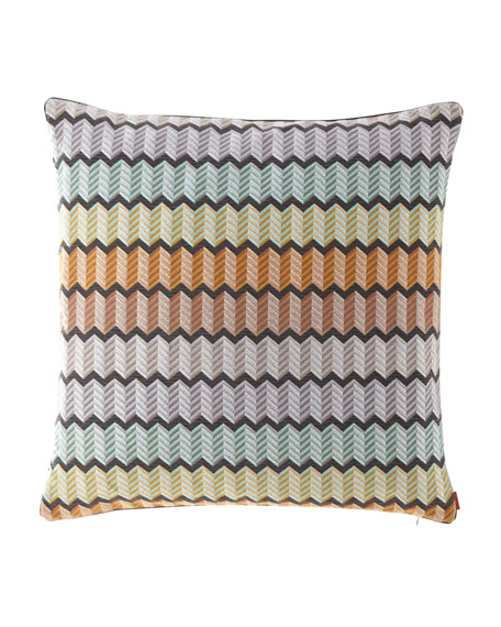 "Waterford Pillow, 24""Sq."