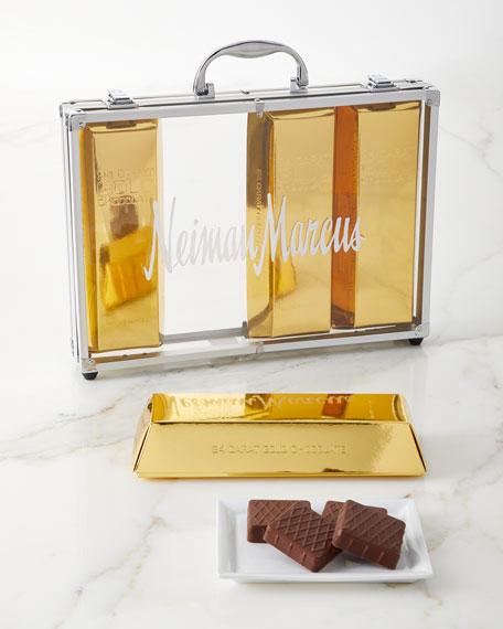 Gold Chocolate Bar Briefcase