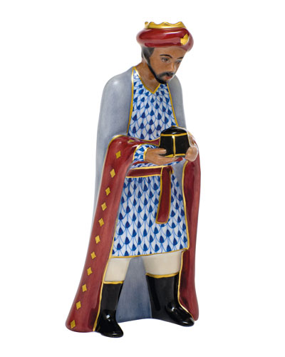 Wise Man Balthazar Nativity Figurine