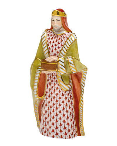 Wise Man Melchior Nativity Figurine