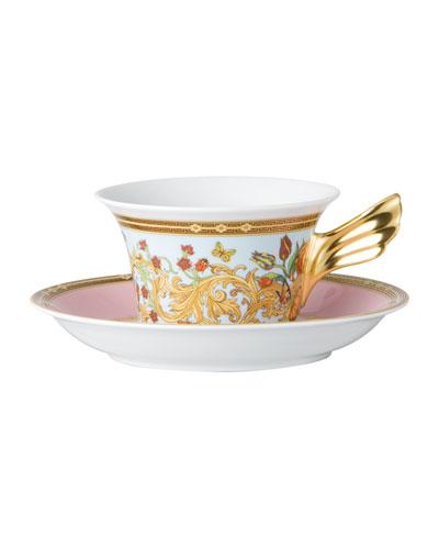 Butterfly Garden Tea Cup & Saucer