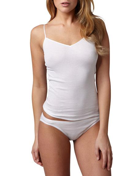 Hanro Cotton Seamless Camisole, White