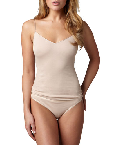 Cotton Seamless Camisole, Skin