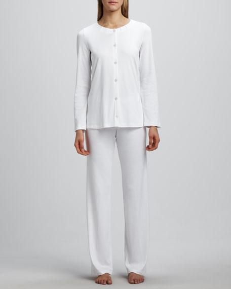Jasmine Pajamas, White