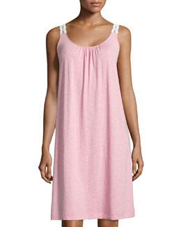Liz Lace Sleeveless Gown, Blossom Melange