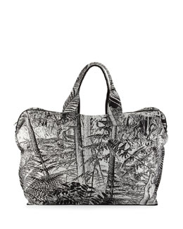 Large Carpet Gym Duffel Bag, Jungle
