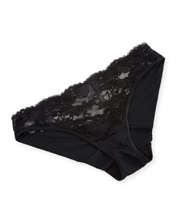 Airy Blooms Mid-Rise Briefs