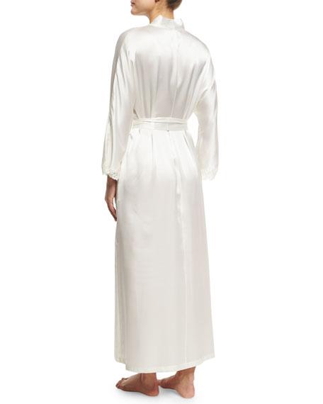 Bijoux Long Silk Robe