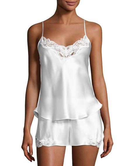 Christine Designs Bijou Short Silk Pajama Set