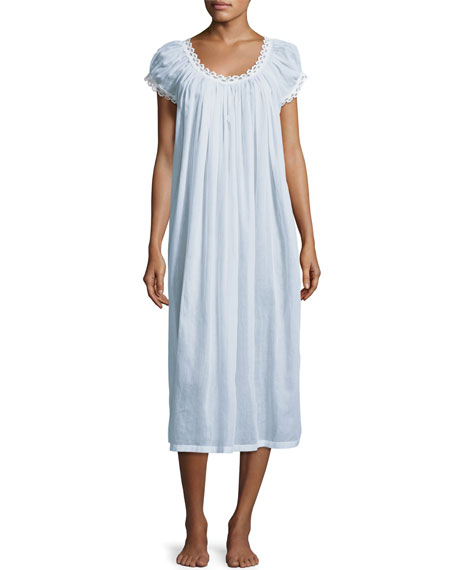 Celestine Jule Cap-Sleeve Long Nightgown ed665fe1d