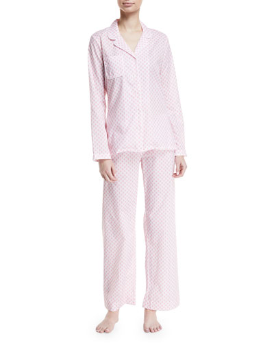 Ledbury Printed Cotton Pajama Set