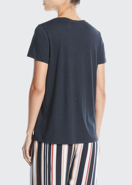 Sleep & Lounge Short-Sleeve Shirt