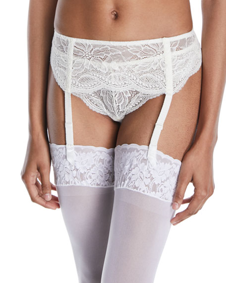 Eden Lace Suspenders Garter Belt