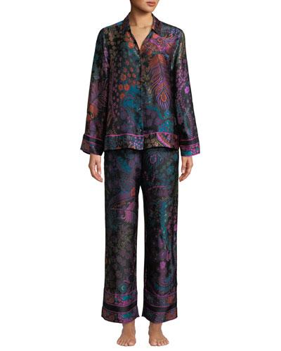 Nouveau Classic Silk Pajama Set
