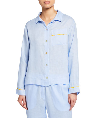 Pepper Long-Sleeve Pajama Shirt
