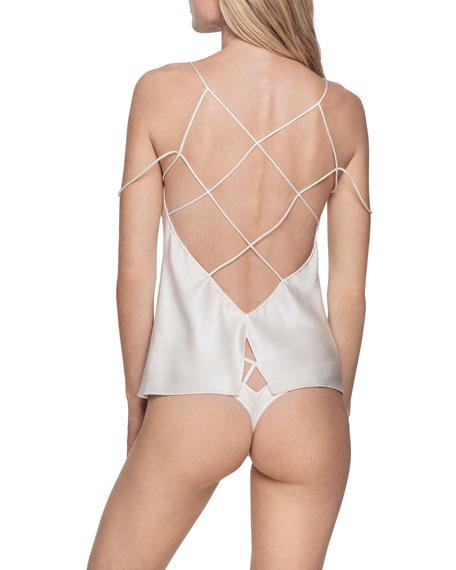 Cage High-Waist Bikini Briefs