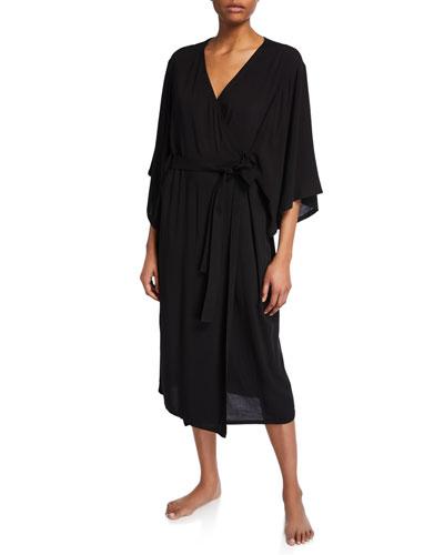 Gauzy Kimono Robe