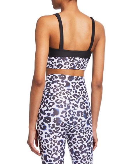 Lea Leopard-Print Sports Bra