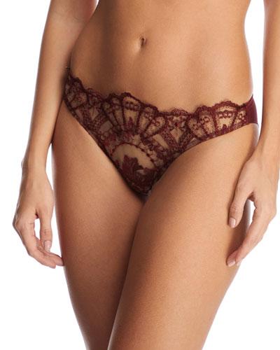 Desert Rose Lace Bikini Briefs