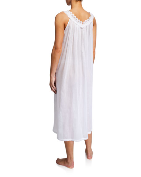 Elaine Sleeveless V-Neck Nightgown