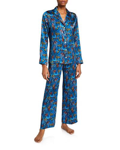 Brindisi Classic Silk Pajama Set