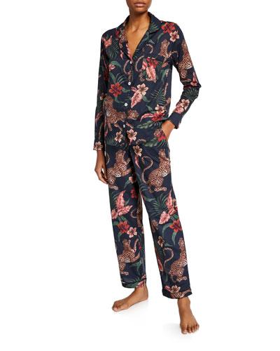 Soleia Silk Classic Pajama Set