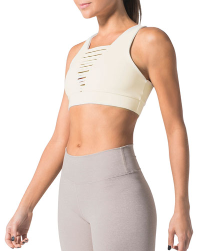 No Strings Attached Sports Bra