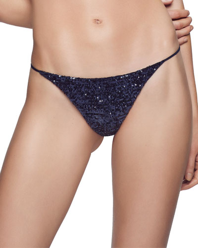 Sequin Thong