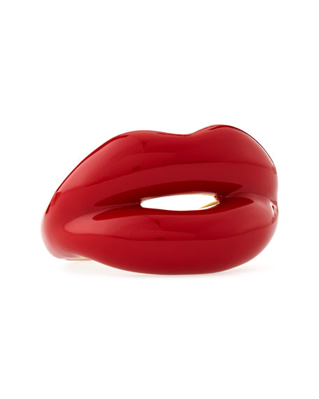 Red Hotlips Ring, Size 6.5 US/53 EU