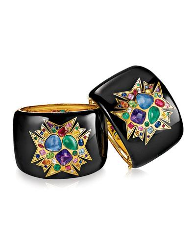 Theodora Limited Edition Semi-Precious Stone Cuff Bracelet