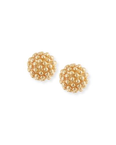 Kate 14K Gold Ball Earrings