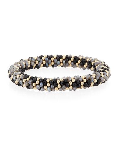 Sue 14K Gold & Labradorite Bracelet