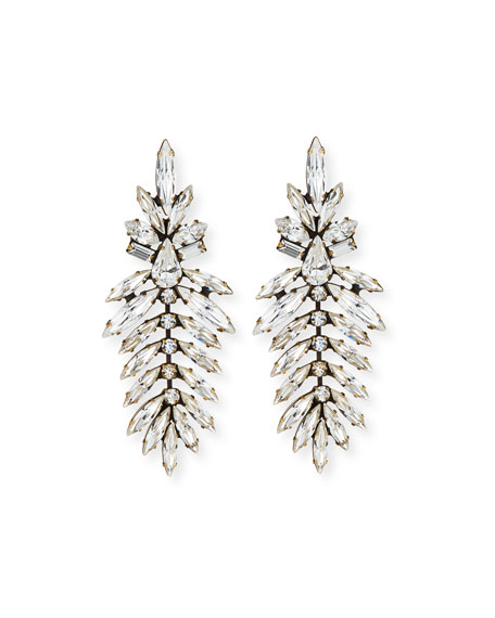 Image 1 of 1: Emerson Marquis Crystal Drop Earrings