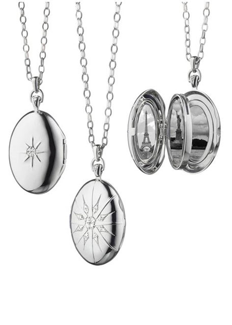 "The Four ""Premier"" Locket with Starburst"