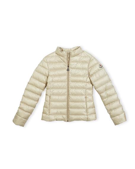 c2390ca34af7 Moncler Iraida Hooded Lightweight Down Puffer Jacket