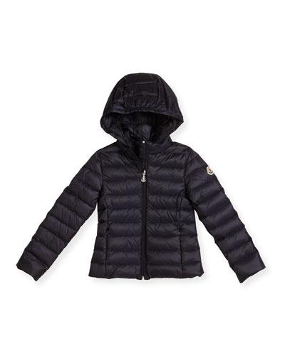 Iraida Hooded Lightweight Down Puffer Jacket  Size 4-6