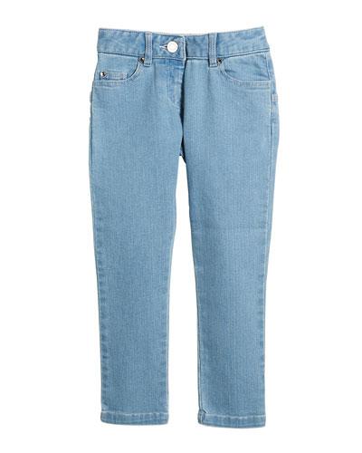 Star-Back Denim Trousers  Size 12