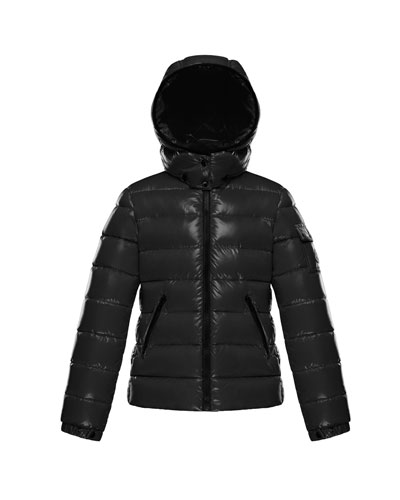 Bady Fitted Puffer Jacket  Black  Size 4-6
