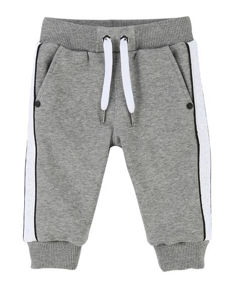 Sweatpants w/ Logo Sides, Size 12-18 Months