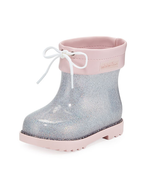 Image 1 of 1: Glittered Rainboots, Toddler