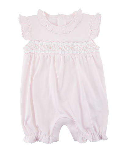 8083f8955e CLB Rosebuds Smocked Ruffle Playsuit Size 3-18 Months Quick Look. Kissy  Kissy