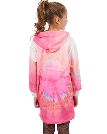 Amazing Tie Dye Sweatshirt Dress, Size 4-6
