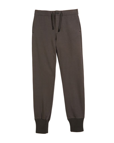 Boys' Jogger-Style Trousers  Size 10-14