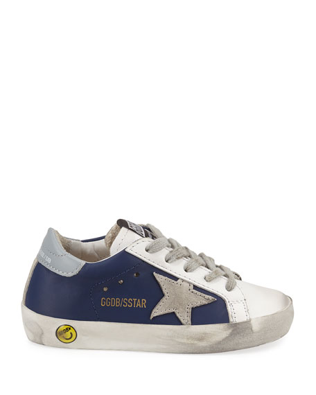Superstar Leather & Suede Low-Top Sneakers, Baby/Toddler