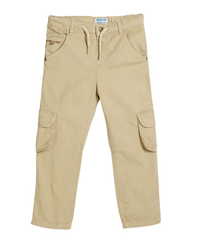 Straight Leg Cargo Pants  Size 12-36 Months
