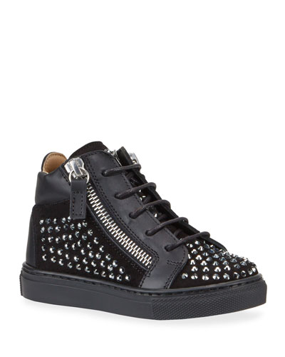Boy's Studded High-Top Sneakers  Baby/Toddler
