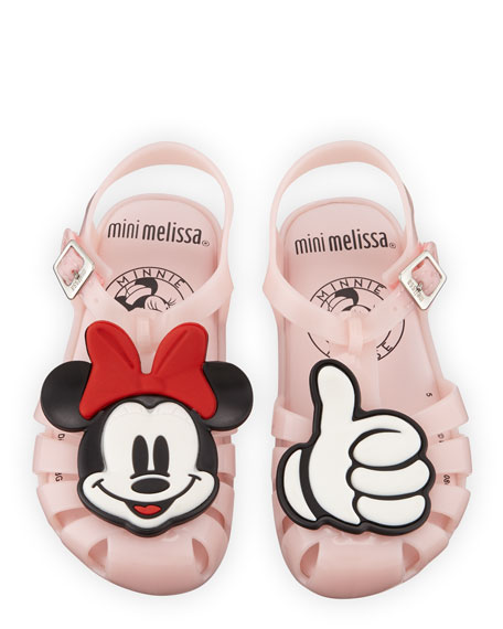 Mini Aranha Mickey & Friends Cutout Sandal, Baby/Toddler/Kids