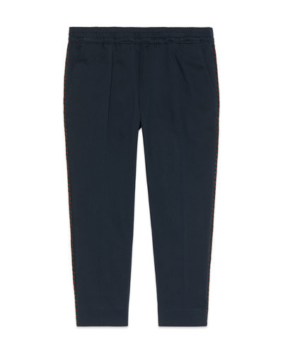 Pants w/ Piping on Sides  Size 4-12