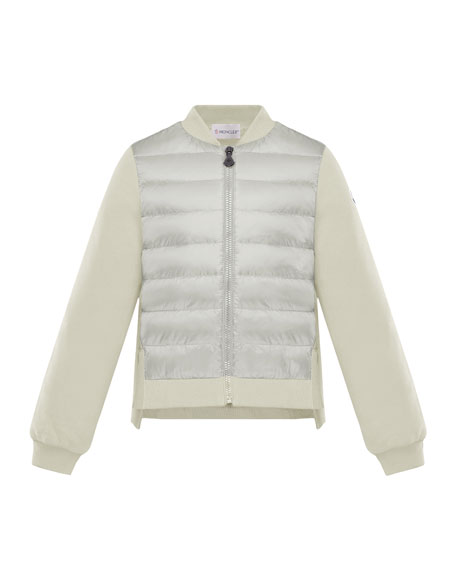 Maglia Knit & Quilted Combo Jacket, Size 4-6