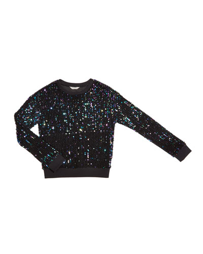 Ember Multi-Sequins Top  Size 7-14
